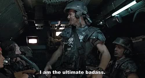Watch and share Bill Paxton In Aliens GIFs on Gfycat