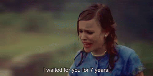 rachel mcadams, waiting for you GIFs