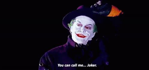 Watch and share The Joker GIFs on Gfycat