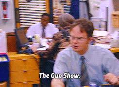 rainn wilson, the office * Season 1 dwight schrute Jim Halpert 1x4 GIFs