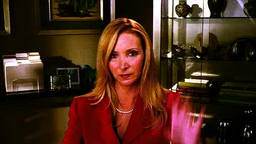 Watch lisa kudrow talk to the hand GIF on Gfycat. Discover more related GIFs on Gfycat