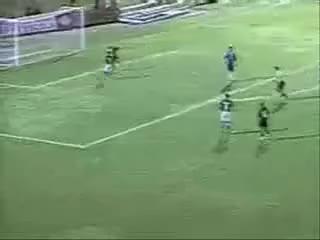 Watch and share Copa Do Brasil 2003 - Palmeiras 2 X 7 Vitória - O Goleiro Marcos Chuta O Vento GIFs on Gfycat