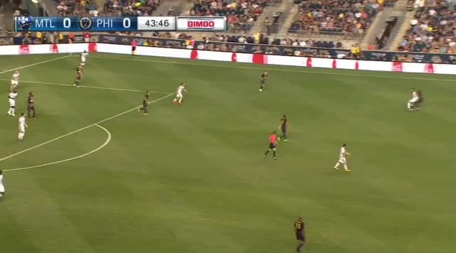 Watch and share Yaro Creates Contact (great), Leads To Union Goal GIFs by Evercombo on Gfycat