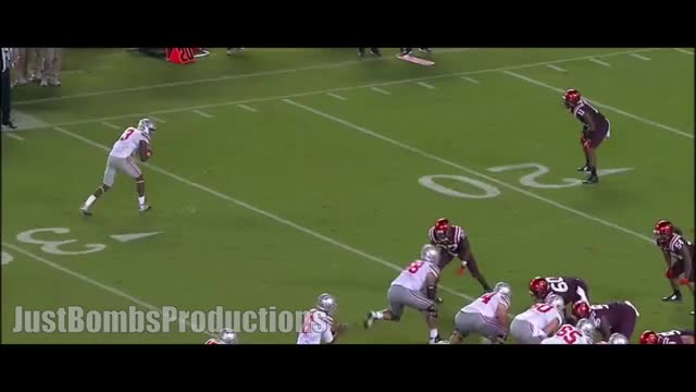 Watch Ohio State WR Michael Thomas 2015 Highlights ᴴᴰ GIF by @nfldude on Gfycat. Discover more jbp, justbombsproductions, michael thomas GIFs on Gfycat