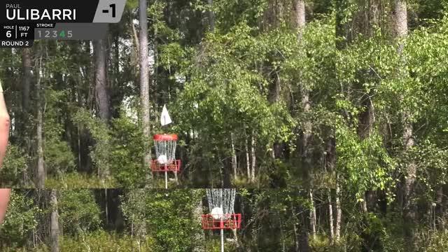 Watch Quarterfinals 2018 DGPT Championship - MPO F9 |Ulibarri hole 6 putt GIF by Benn Wineka UWDG (@bennwineka) on Gfycat. Discover more big jerm, big sexy, dgpt, disc golf, disc golf pro tour, jeremy koling, nikko, nikko locastro, pdga, uli GIFs on Gfycat
