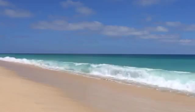 Watch and share 4K UHD Cabo San Lucas Beach BIG Waves Crashing | Nature Relaxation™Calming Video Scene / Screensaver GIFs on Gfycat