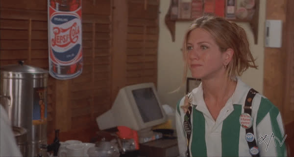 flippingthebird, jenniferaniston, officespace, Bird Flip GIFs