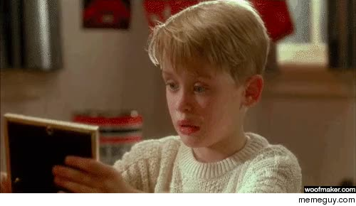 Watch Macaulay Culkin woof GIF on Gfycat. Discover more related GIFs on Gfycat