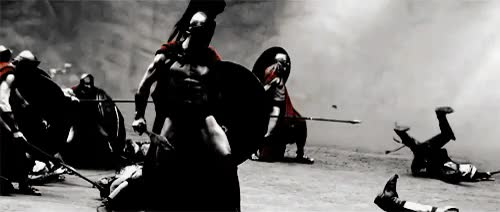 Watch and share This Is Sparta GIFs and King Leonidas GIFs on Gfycat