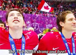 Watch this canada GIF on Gfycat. Discover more canada, canada day, happy canada day, he's so happy, hockey canada, hockeyedit, i'm not crying, look at matt duchene, myedit, sochi 2014, team canada, there's gold medals in my eyes GIFs on Gfycat