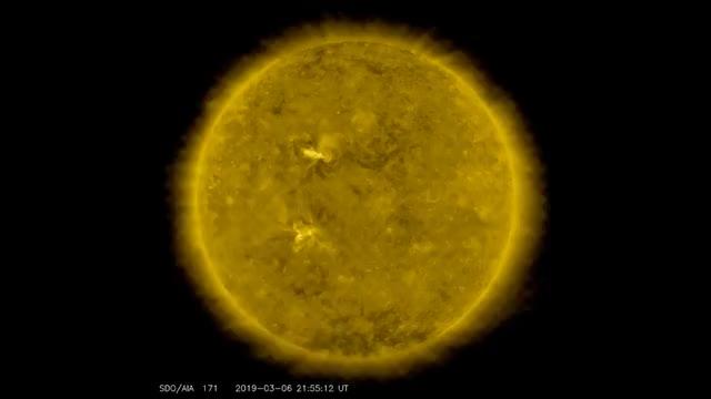 Watch NASA Satellite captures Optical Illusion where the Moon appears to go Backwards GIF on Gfycat. Discover more arin, celebs, cute, dance, dubu, fabulous, facepalm, funny, jihyo, kiss, korea, kpop, nasa, sana, satellite, sigh, space, sports, squaredcircle, twice GIFs on Gfycat