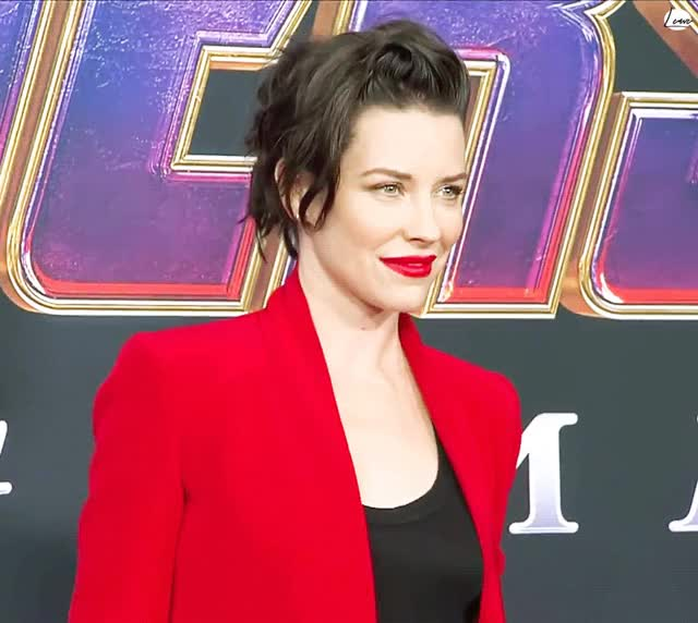 Watch and share Evangeline Lilly GIFs and Red Carpet GIFs on Gfycat