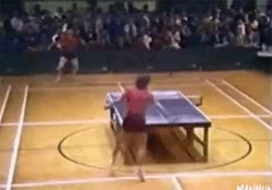 Watch and share Cartwheel GIFs and Ping Pong GIFs on Gfycat