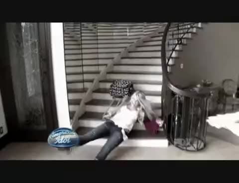 Watch this trending GIF on Gfycat. Discover more lauren alaina falling down stairs GIFs on Gfycat