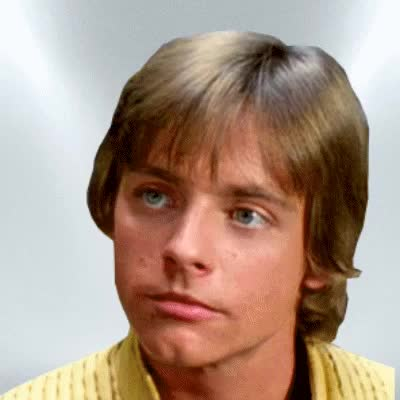 Watch this star wars GIF on Gfycat. Discover more jedi, mark hamill, may the force be with you, sith, star wars GIFs on Gfycat