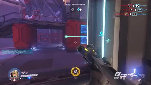 Watch and share Overwatch GIFs and Reinhardt GIFs by MagnificentMaja on Gfycat