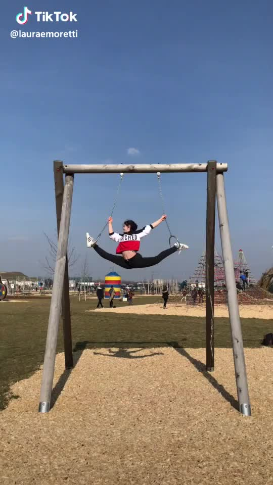 Watch and share Gymnastics GIFs and Oversplit GIFs by TikTok on Gfycat