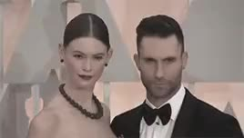 Watch and share Behati Prinsloo GIFs and Adam Levine GIFs on Gfycat