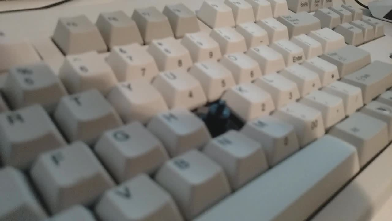 mechanicalkeyboards, Installation of MX key onto Topre Switch w/ Adapter GIFs