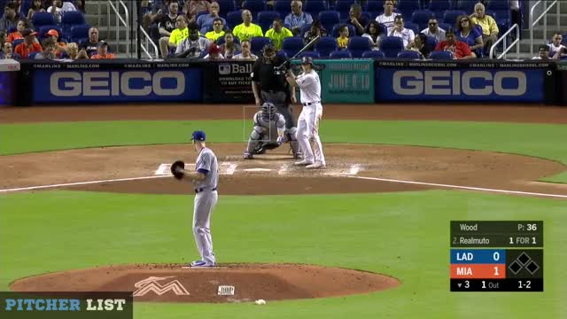 Watch and share Los Angeles Dodgers GIFs and Miami Marlins GIFs on Gfycat