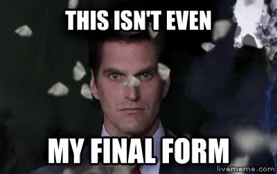 Watch final form GIF on Gfycat. Discover more related GIFs on Gfycat