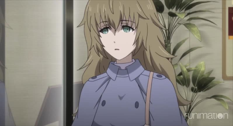anime, funimation, sci-fi, scifi, steins gate, steins gate 0, steins;gate, steins;gate episode 12, steinsgate, steinsgate 0, Doors are hard GIFs