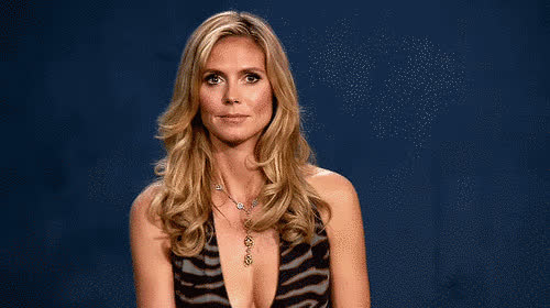 awkward, epic, eye, eye roll, heidi, heidi klum, klum, model, project, roll, runway, supermodel, Heidi Klum - Epic eye roll GIFs