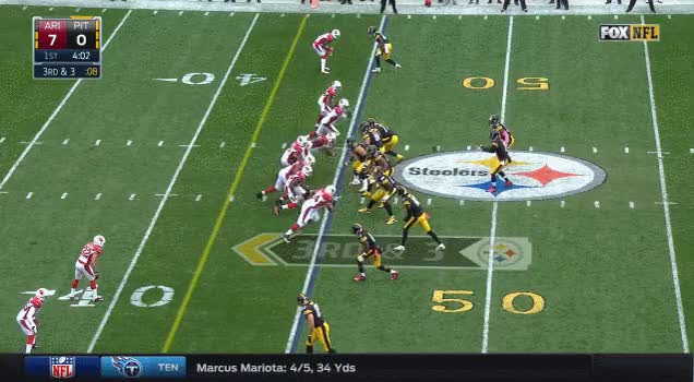 Watch and share Tyrann Mathieu Hates Bubble Screens GIFs by nflchurch on Gfycat