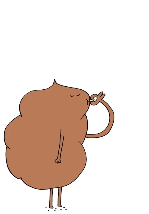 "Watch stevenkraandrawingdaily: "" // turd smoking // "" GIF on Gfycat. Discover more related GIFs on Gfycat"