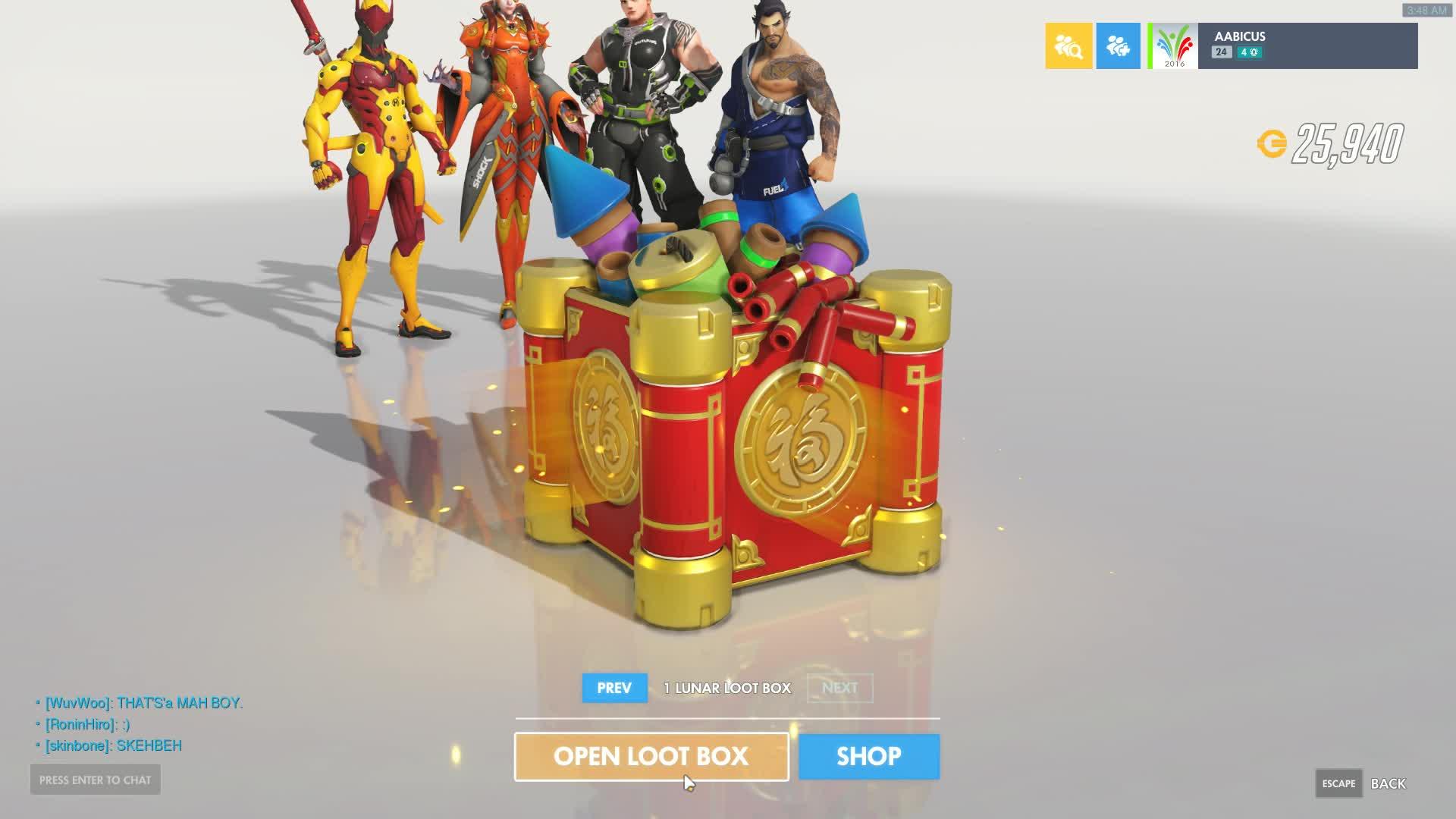 glitch, loot box, overwatch, overwatch glitch, Overwatch Loot Box glitch GIFs