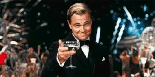 Watch great gatsby cocktail GIF on Gfycat. Discover more Leonardo DiCaprio GIFs on Gfycat