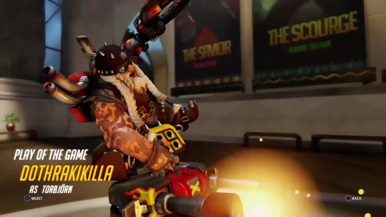 playstation 4, sony interactive entertainment, Torbjorn POTG - Numbani GIFs