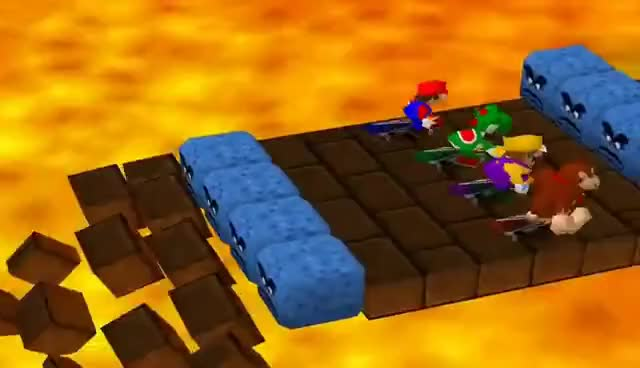 Watch and share Mario Party Skateboard Scamper GIFs on Gfycat