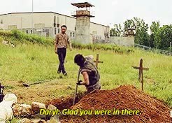 Watch and share You Tell Him Daryl GIFs and The Walking Dead GIFs on Gfycat