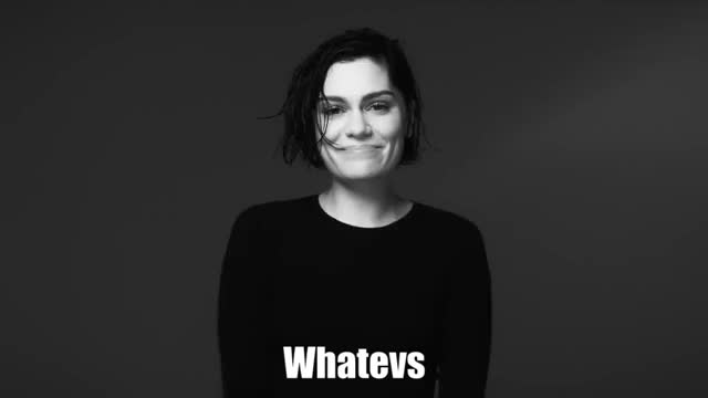 Watch and share Jessie J GIFs and Whatever GIFs by Reactions on Gfycat