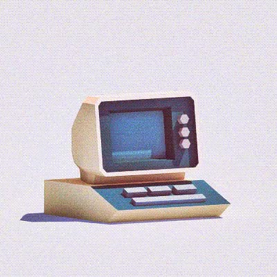 Watch Devil's Garage — Retro Computer GIF on Gfycat. Discover more related GIFs on Gfycat