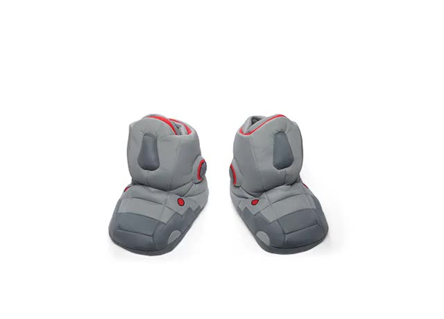 Watch and share Giant Robot Slippers With Sound GIFs on Gfycat