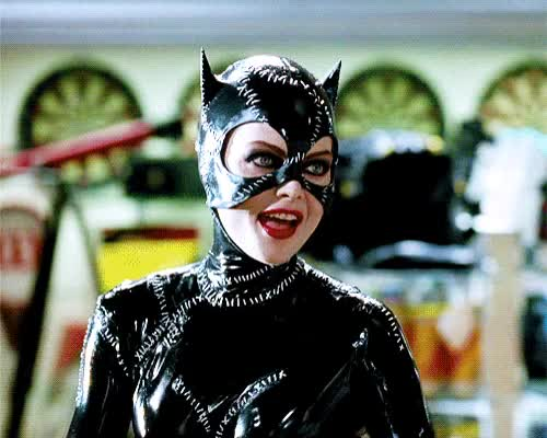 Watch and share Gifs Y Algunas Imágenes De Catwoman (Michelle Pfeiffer) GIFs on Gfycat