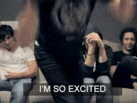 Watch and share Excited, Im So Excited GIFs on Gfycat