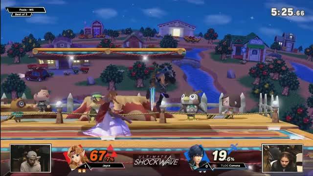 USW 1 - Jayce (Zelda) vs TLOC | Comona (Chrom) Pools - WS - SSBU