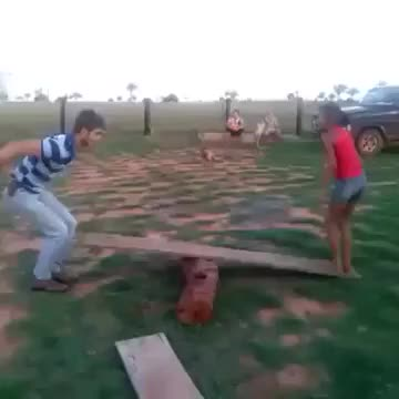 Watch and share Lemme Jump On This Seesaw (reddit) GIFs on Gfycat