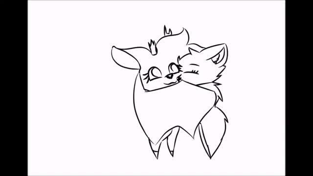 Watch and share Cuddle GIF (TEST) By LittleMapleDoodler GIFs on Gfycat