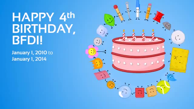 Watch and share Happy Birthday BFDI GIFs on Gfycat
