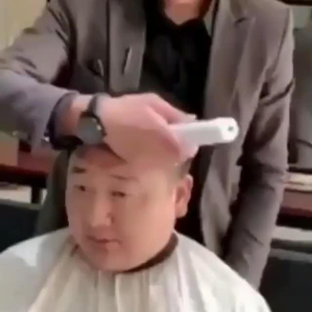 Who wants a hair cut like this?