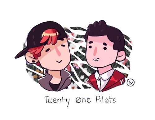 cute dweebs, josh dun, twenty one pilots, twentyonepilots, tyler joseph, tøp, guess who's an obsessed twenty ne pilts dweeb?  GIFs