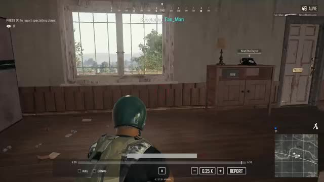 Watch and share Hit, Miss Hit? Good Job Pubg GIFs by Noah C Buckhannon on Gfycat