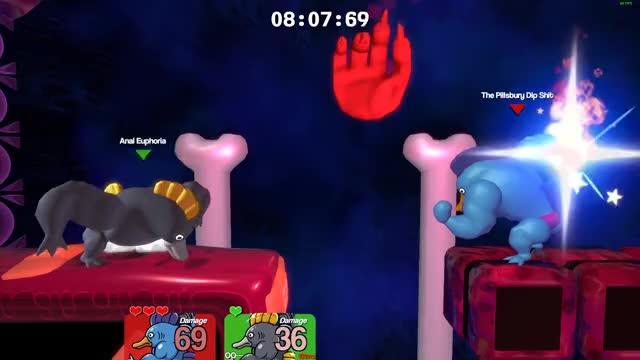 Watch Super Smash Bros FishBunjin GIF on Gfycat. Discover more Fishbunjin, SLAP CITY, brawlout, city, funny, gaming, slap, smash bros, smash clone GIFs on Gfycat
