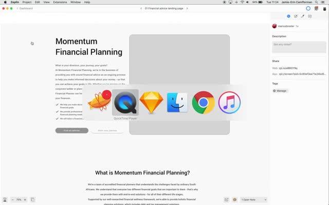 Watch and share Financial Advice Screen Design GIFs by jamieerinc on Gfycat