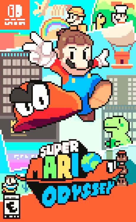 Watch and share Super Mario Odyssey GIF GIFs by themariostars on Gfycat
