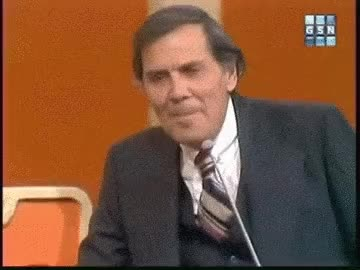 Watch and share Match Game Gene Rayburn Mr. Periwinkle And Mrs. Perkins GIFs on Gfycat